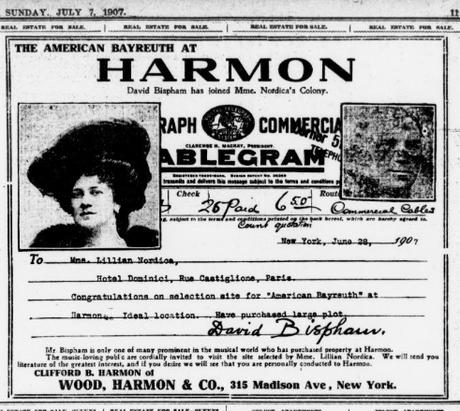 An american Bayreuth - Un Bayreuth américain sur les rives de l'Hudson, le rêve de Lillian Nordica en 1907