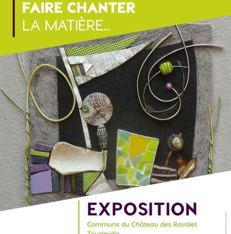 #Culture #Cherbourg #Tourlaville - Exposition de mosaïque contemporaine : Cécile Bouvarel fait chanter la matière !