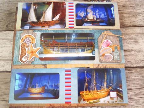 Dernières pages de l'album maquettes et miniatures de La Rochelle