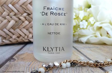 Lotion Fraîche de Rosée by Klytia, un soin du matin inspirée de la chronobiologie