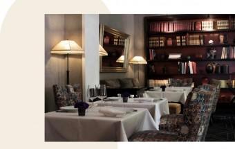 Restaurant bibliothèque