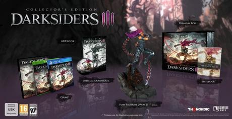 Darksiders 3 – Les éditions spéciales et collector