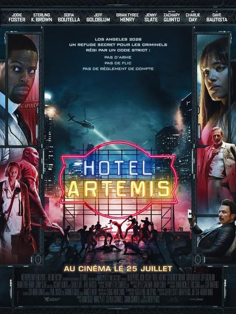 Premier extrait VF pour Hotel Artemis de Drew Pearce