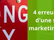 erreurs courantes d'une stratégie marketing automation