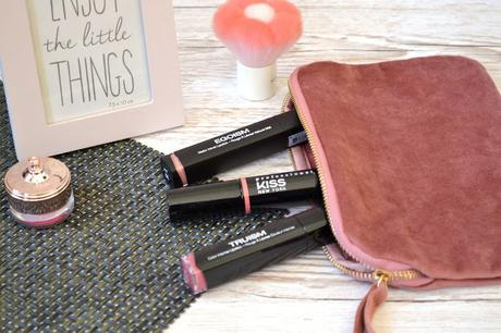 La belle découverte des rouges à lèvres Kiss New York Professional