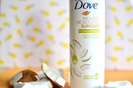 ( DOVE ) Aujourd'hui c'est soirée Mousse sous la douche, mon coco !