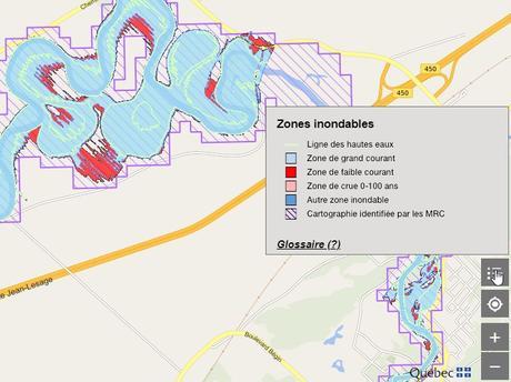 Inondations au Québec : une nouvelle application Web pour repérer les zones à risques