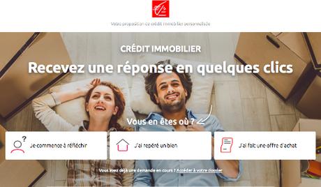 Proposition de crédit immobilier Caisse d'Épargne