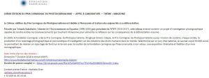Fondation Carmignac  10me édition  prix Carmignac de photojournalisme -appel à candidature -thème Amazonie