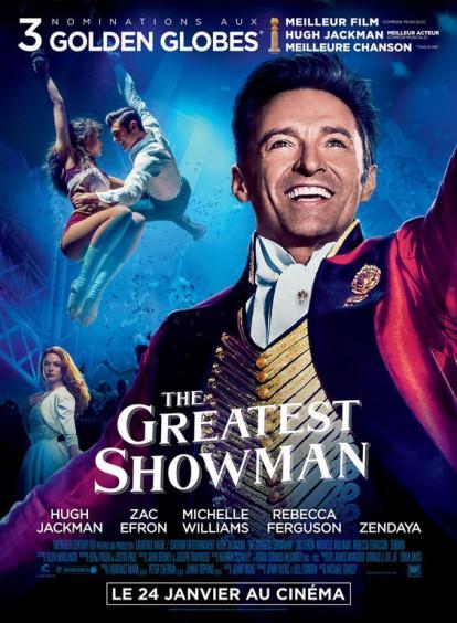 J'ai vu The Greatest Showman de Michael GraceyAvec Hugh Jackman
