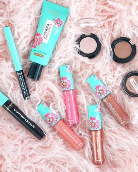L'Oréal Paris et Camila Cabello créent une collection de maquillage : Havana !