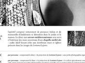 Marquer agendas pour septembre Soirée Blanche Gérard Musy dîner projection