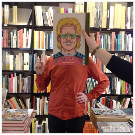 #bookface l'hilarante série de clichés de la librairie Mollat