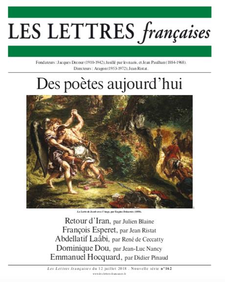 N° 162 – Les Lettres Françaises du 12 juillet 2018