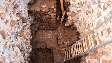 Un ancien temple découvert dans une pyramide endommagée par un tremblement de terre au Mexique
