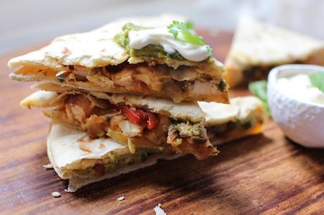Quesadillas au poulet et à l'avocat : la recette !