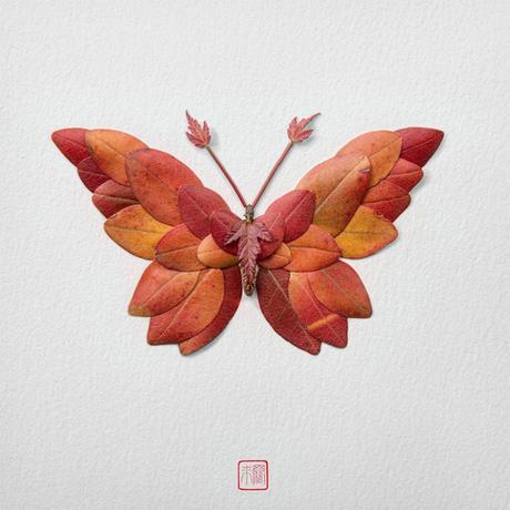 Les nouvelles compositions végétales de Raku Inoue