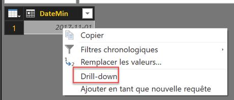 Drill Down