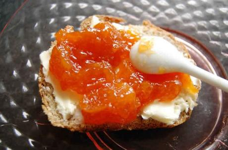 confiture abricot vanille avec thermomix