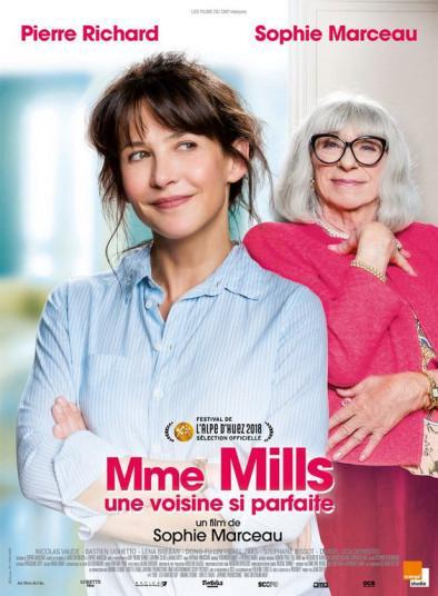 J'ai vu le film de Sophie Marceau, Mme Mills, une voisine si parfaite