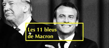584ème semaine politique: ces 11 bleus de Macron qu'il faudrait cacher