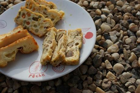 recette du jour: Cakes salés (petits pois carottes maïs, thon et fromage)  au thermomix de Vorwerk
