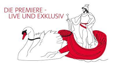 La première du Lohengrin à Bayreuth sera diffusée en vidéo livestram gratuit ce 25  juillet 2018.