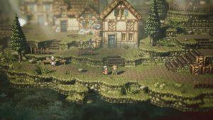 Octopath travellers