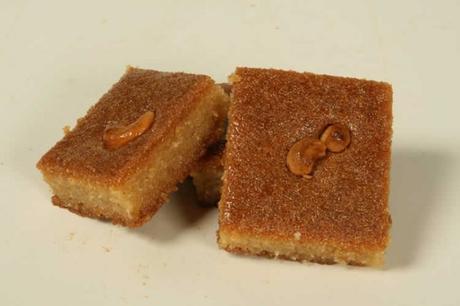 gâteau de semoule libanais – namoura