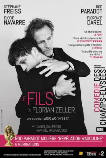 La pièce de théatre « Le fils » de Florian Zeller jouée à nouveau