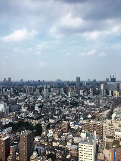 En promenade : Le Bunkyo Civic Center et sa plateforme d'observation