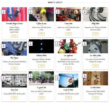 Gigean | Festival «Chapeau les Artistes» 2018