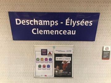 La RATP remercie à sa façonl'équipe de France pour sa victoire !