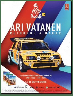 Dakar 18 Ari Vatanen