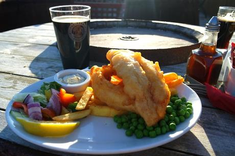 écosse north coast 500 road trip smoo cave hotel restaurant fish and chips