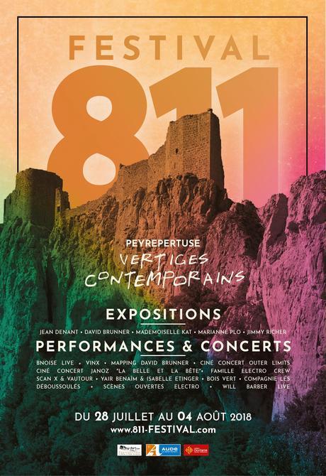 Peyrepertuse   Festival 811 «Vertiges contemporains»