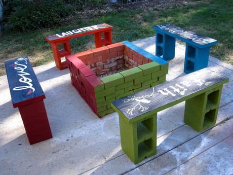 Cette maman achète des blocs de béton et les utilise d'une manière à laquelle je n'avais jamais pensé. Voici 15 idées renversantes