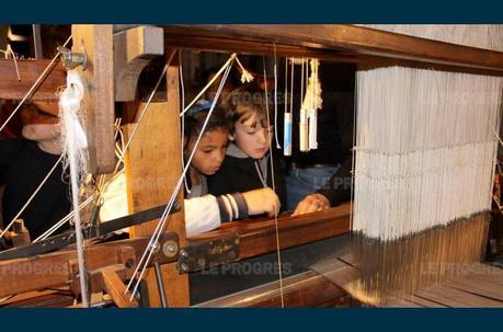 Le musée du tissage, du côté de Bussières
