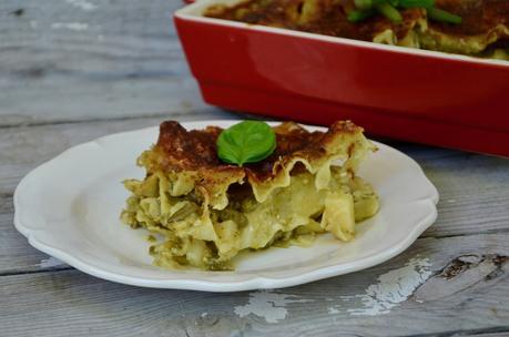 Lasagnes d'été aux légumes et pesto