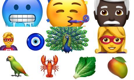 70 nouveaux Emojis sur iPhone