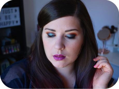 Makeup Bleu Holographique {10-Year Anniversary ~ Kat von D}