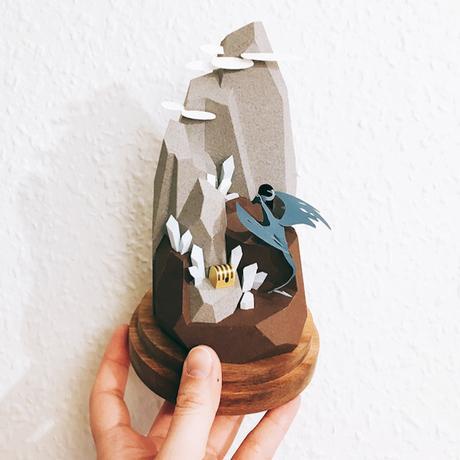 Les petits mondes en papier découpé de Li-Yu Lin