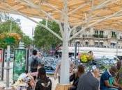 îlot frais écologiques dans Paris pour protéger chaleur