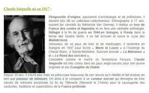 une disparition – Claude SEIGNOLLE