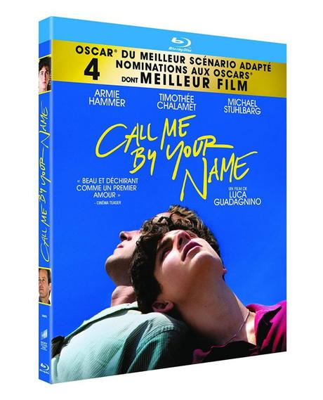 Critique Bluray: Call Me By Your Name