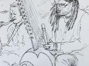 Grottes Lacave, concert Olivier (saxophones)...