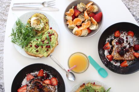 Brunch maison :mes recettes rapides et vitaminées !