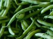 Haricots verts champignons Paris salade l'échalote