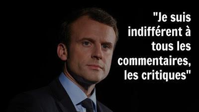 566° Macron gourou ? Ça commence à se voir...