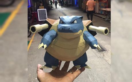 Les Pokemon en papier de Tomly